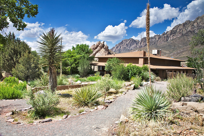 Driping Springs State Park is located at the foot of the rugged Organ Mountains near the town of Las Cruces, New Mexico