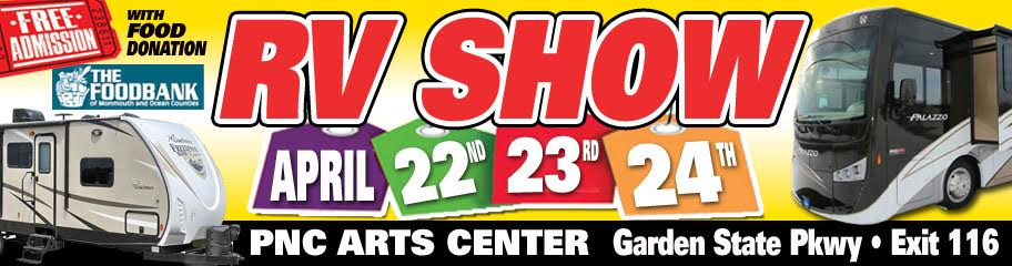Upcoming Event: 25th Annual Central Jersey RV Show / Food Drive