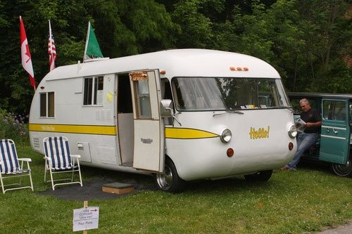 ThrowbackThursday Vintage RV 1968 Ultra Van Corvair Motorhome