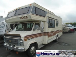 Throwback Thursday Vintage RV: 1982 Fleetwood Tioga