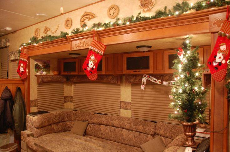 Motorhome Christmas Theme Decoration