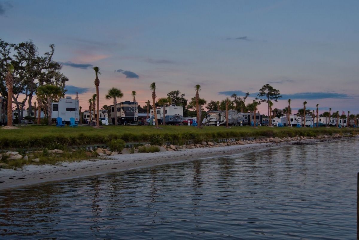 Travel Tuesday Featured Campground: Santa Rosa Waterfront RV Resort