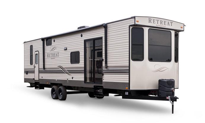 Featured RV of the Week: Keystone Retreat Destination Trailer