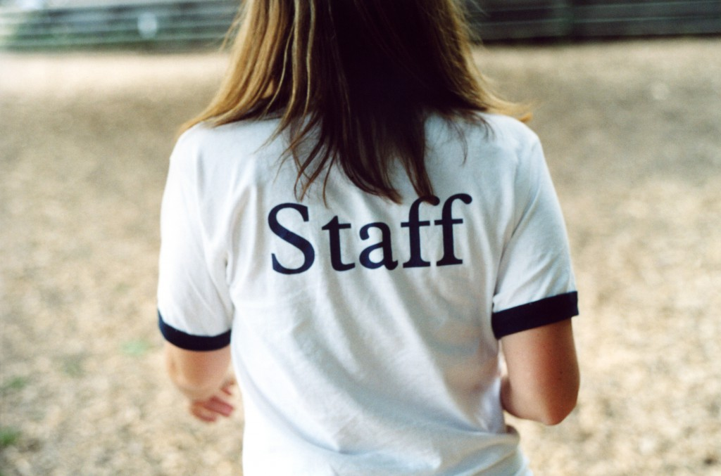 Great shot that says a lot. This is actually a camp staff shirt but it could be applied to many situations.
