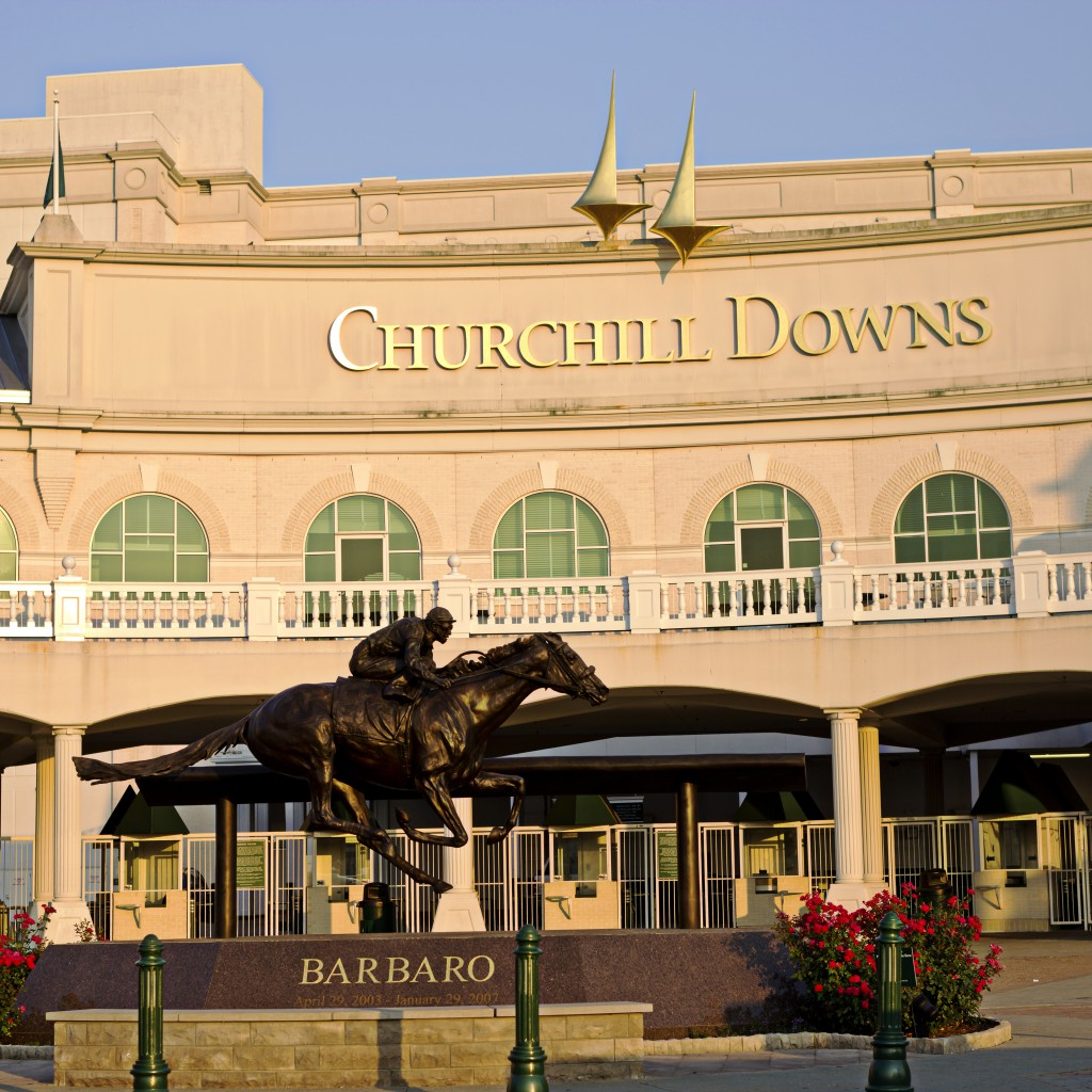 Churchill Downs is the Home of the Kentucky Derby.