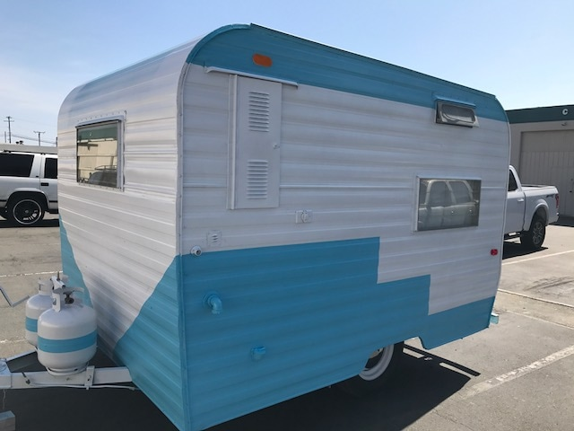 This Weeks Vintage RV Is A Redone Santa Fe From The 60s Little Cutie Comes Fully Equipped On Inside And Being Offered Camper