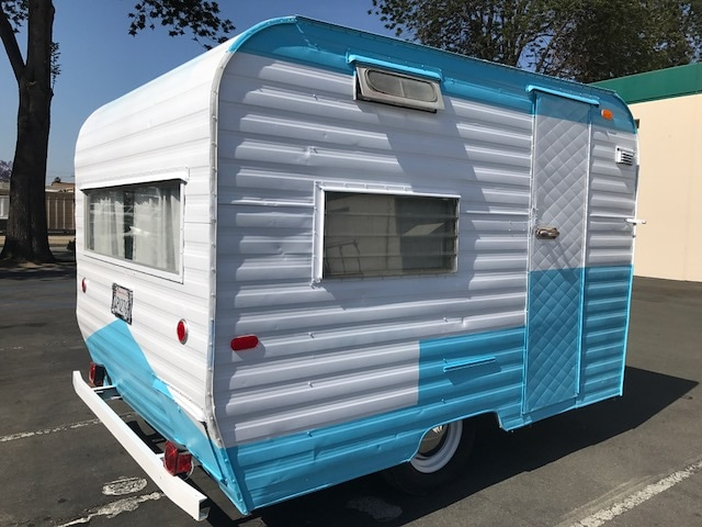 Throwback Thursday Vintage RV 1960s Santa Fe Camper Trailer