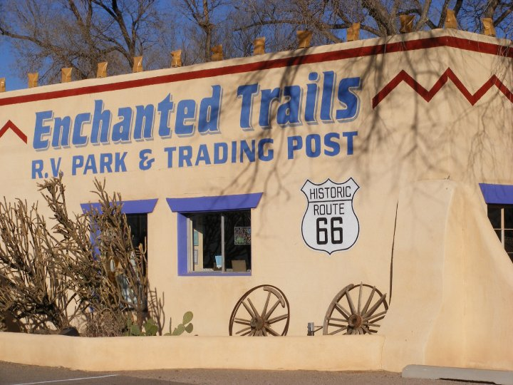 Throwback Thursday Vintage Campground: Enchanted Trails RV Park & Trading Post