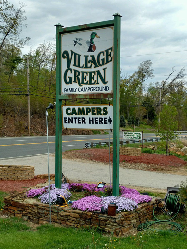 Travel Tuesday Featured Campground: Village Green Campground