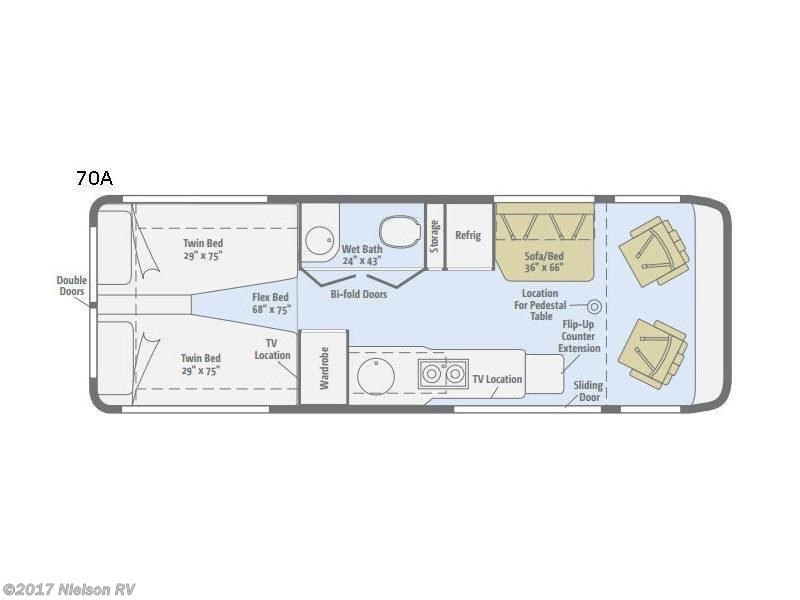 2018 Winnebago Era 70A floor plan