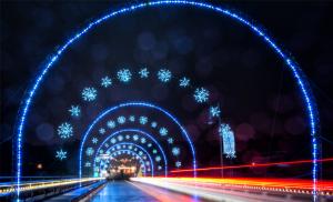 MAGICAL NIGHTS OF LIGHTS bridge