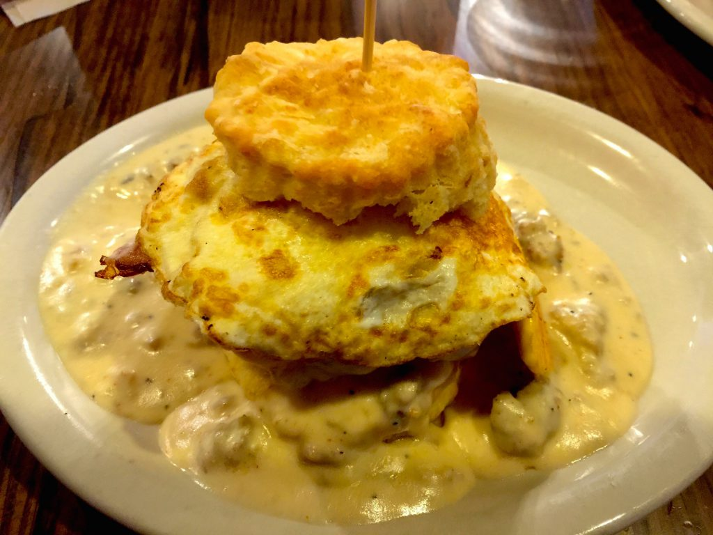 Biscuits and Gravy-Breakfast