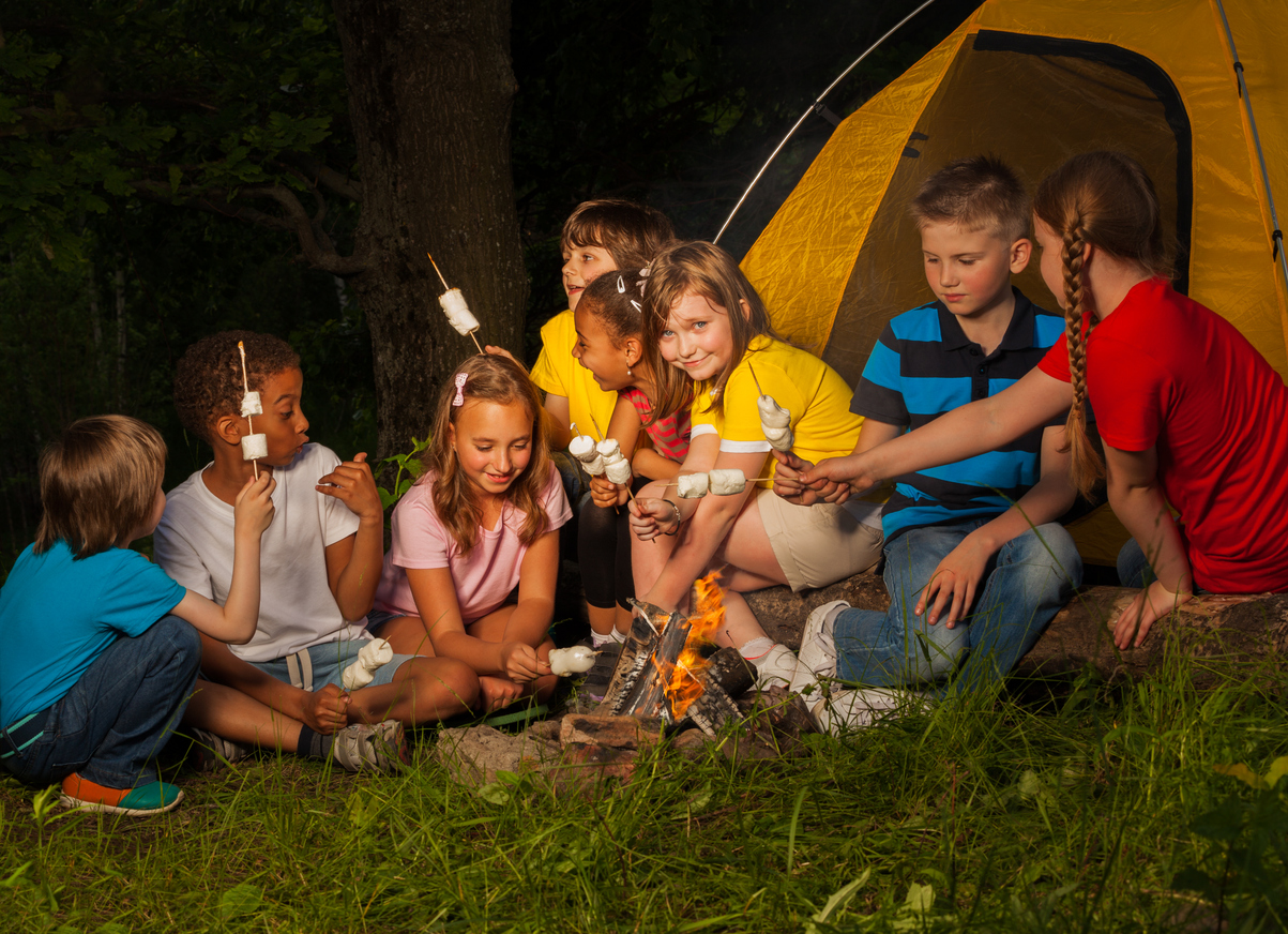 Fun Camping for kids