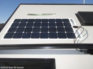 Forest River Rockwood Extreme solar panel