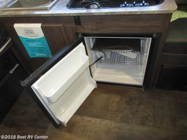 Forest River Rockwood Extreme mini fridge - RV Lifestyle News, Tips
