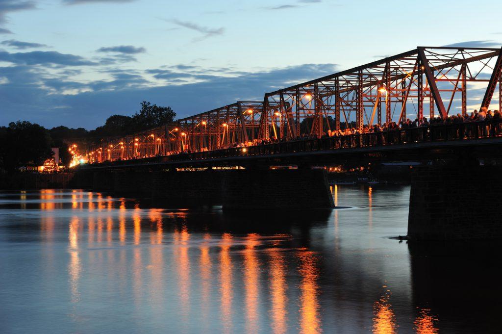 New Hope Lambertville Bridge