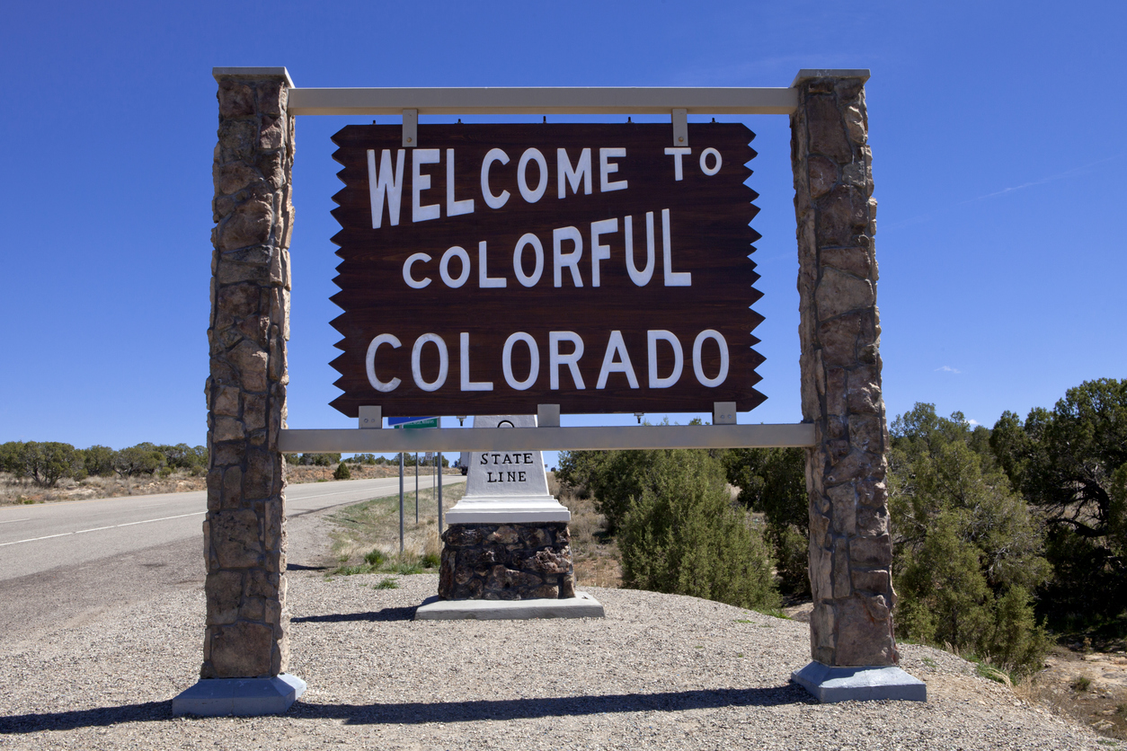 Welcome to Colorado Sign