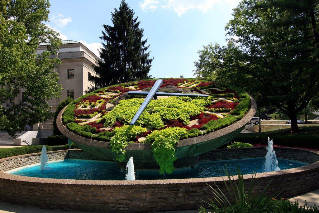 Kentucky Floral Clock