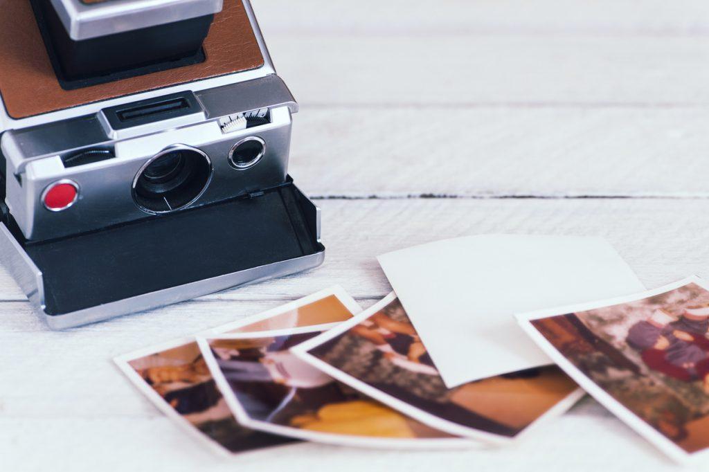Vintage old camera