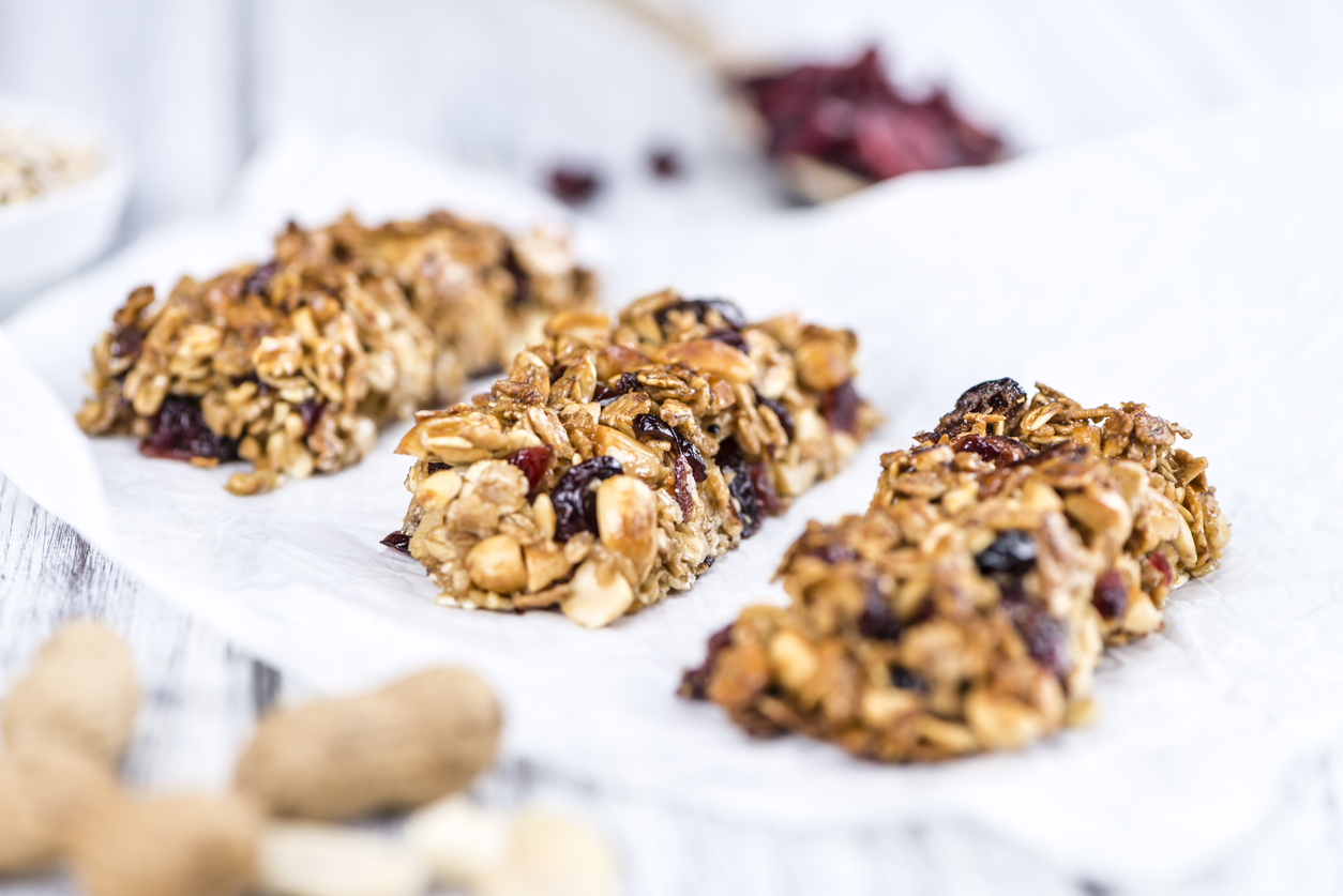 Healthy Homemade Snacks for the Road