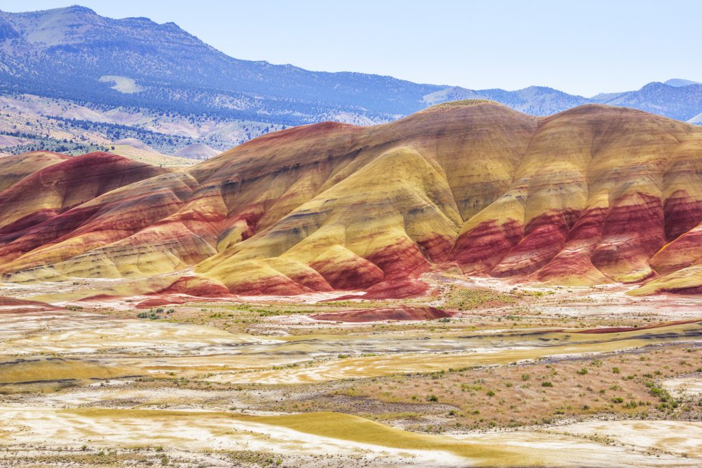 Painted Hills National Landmark, Oregon