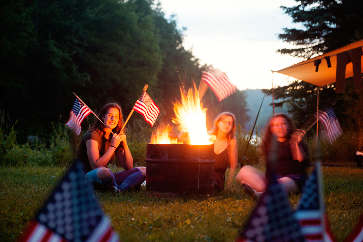 Fourth of July Campfire Snacks and Treats