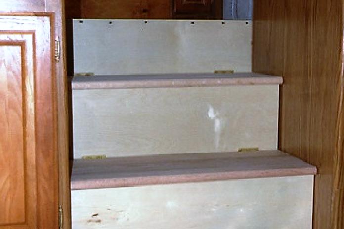 RV Storage Stairs