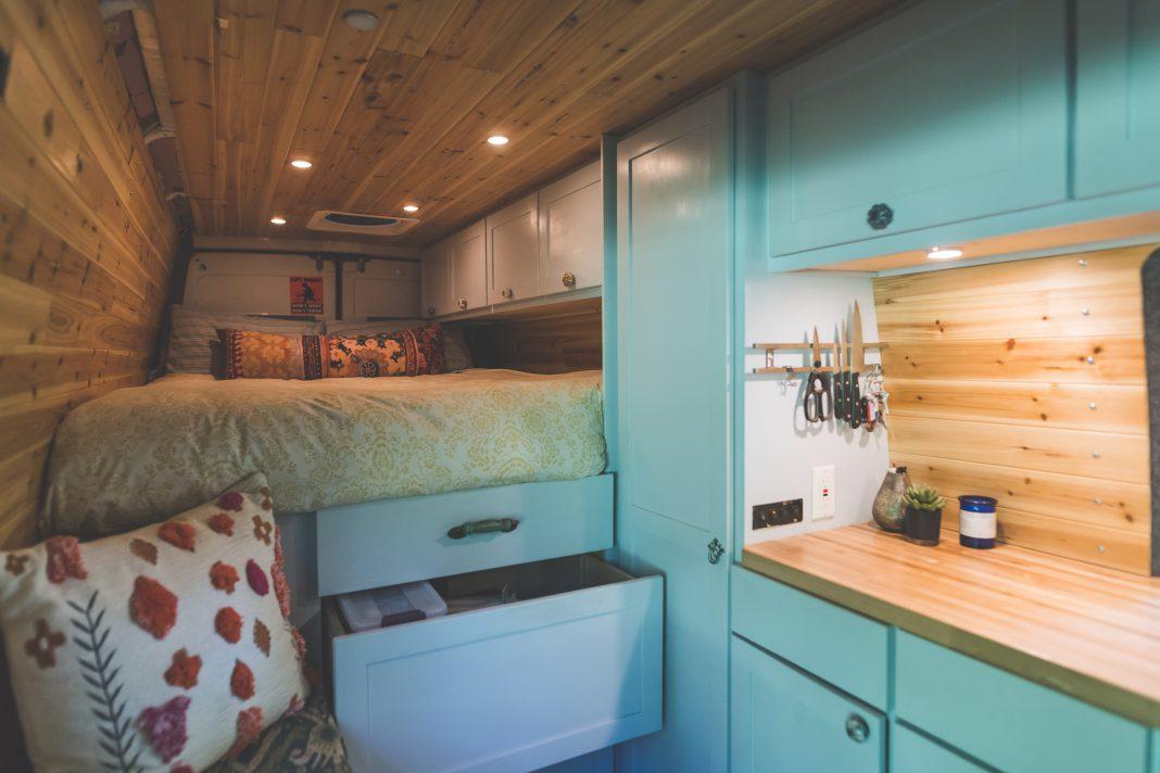 Camper Storage and Organizational hacks