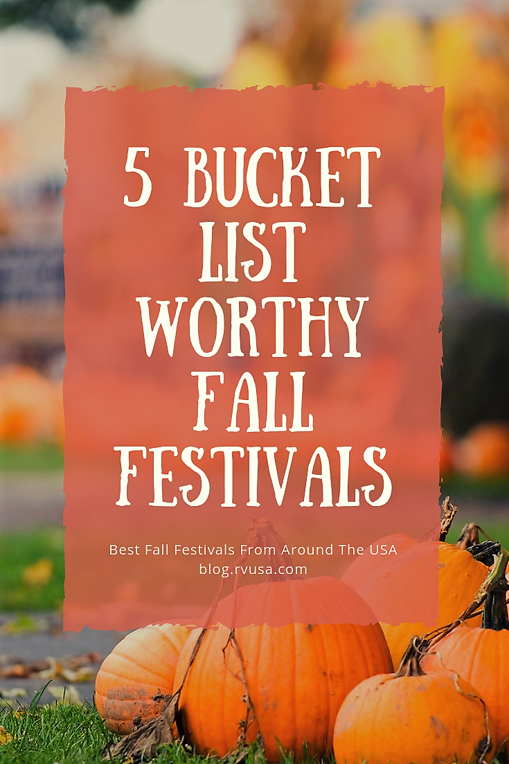 Bucket list worthy fall festivals
