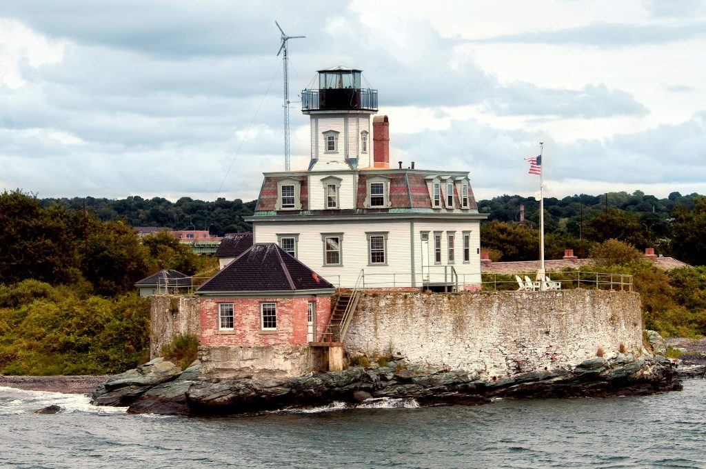 Rose Island Lighthouse- Newport, Rhode Island