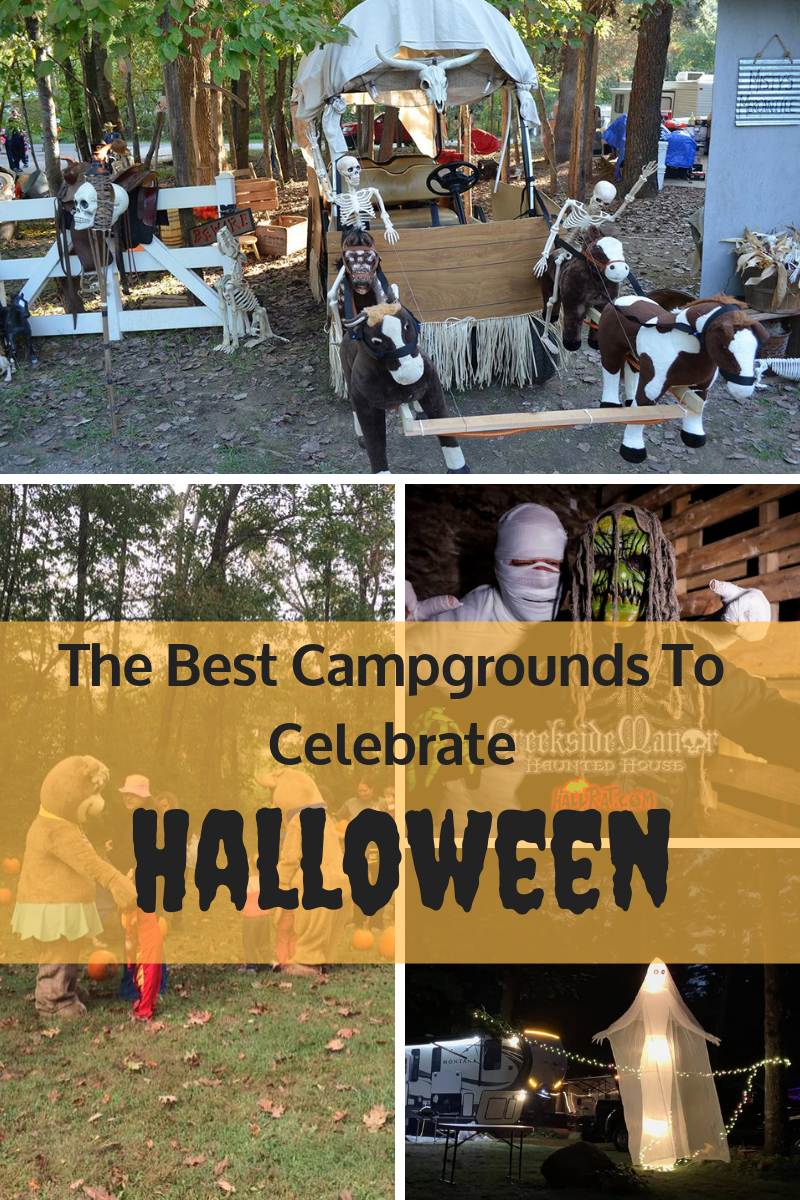 The best campgrounds to celebrate Halloween