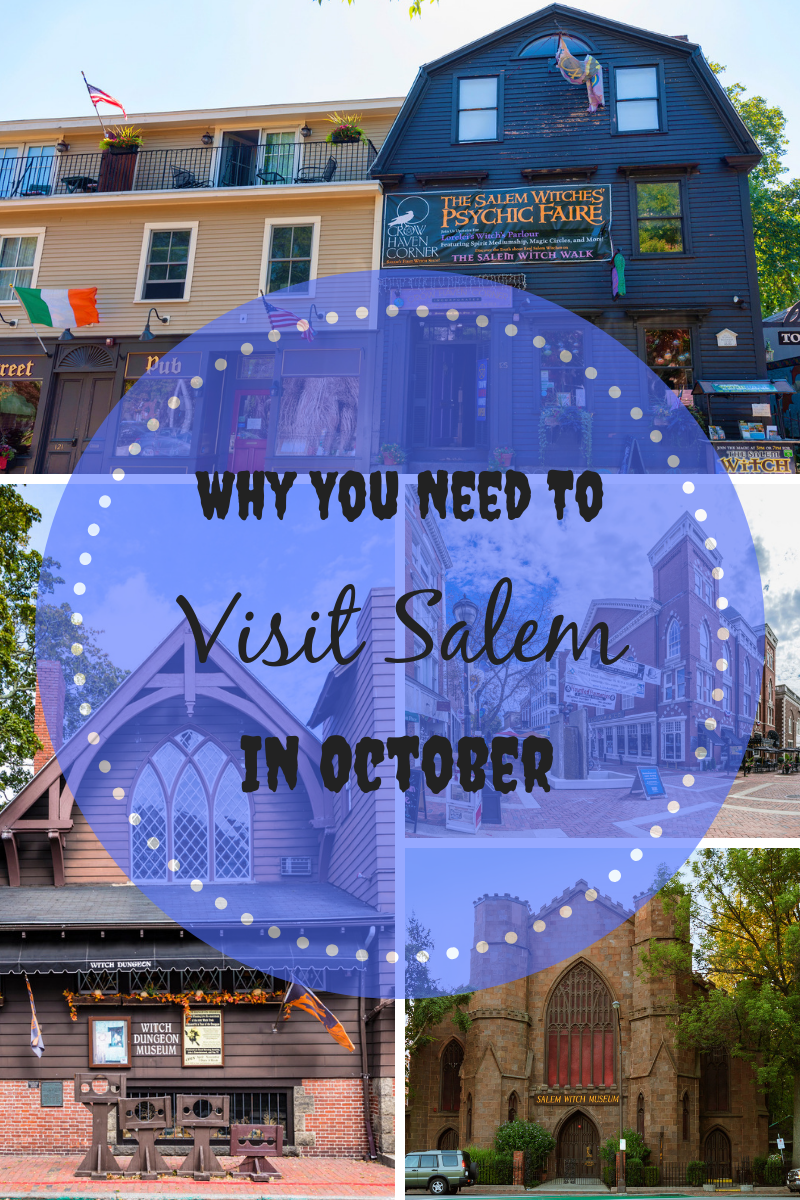Why you need to visit Salem in October. Enjoy these perfectly Halloween destinations in Salem, MA and have a witchy good time.