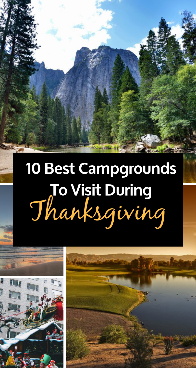 Searching for something fun to do this Thanksgiving? We suggest taking a break from the kitchen this holiday and hitting the road! We've found just the right campgrounds that stay open through Turkey Day to give you the full experience. Explore the US and and create new traditions by enjoying thanksgiving at these perfect getaways. From potlucks to turkey trots, these destinations are guaranteed to cover every base.