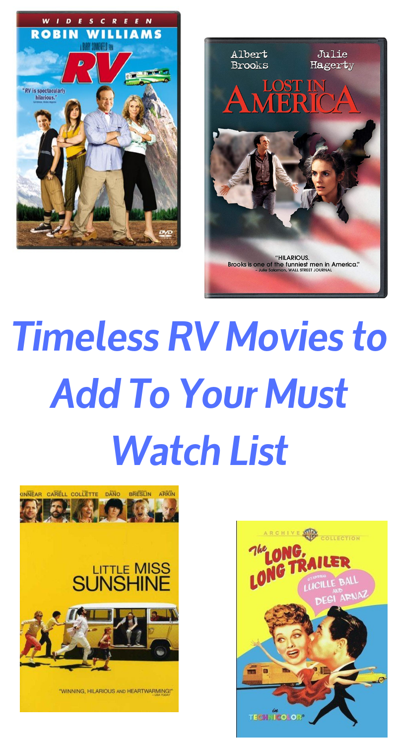 Looking for Rv movies or movies about RVs? Then these timeless RV classics are just what you need!