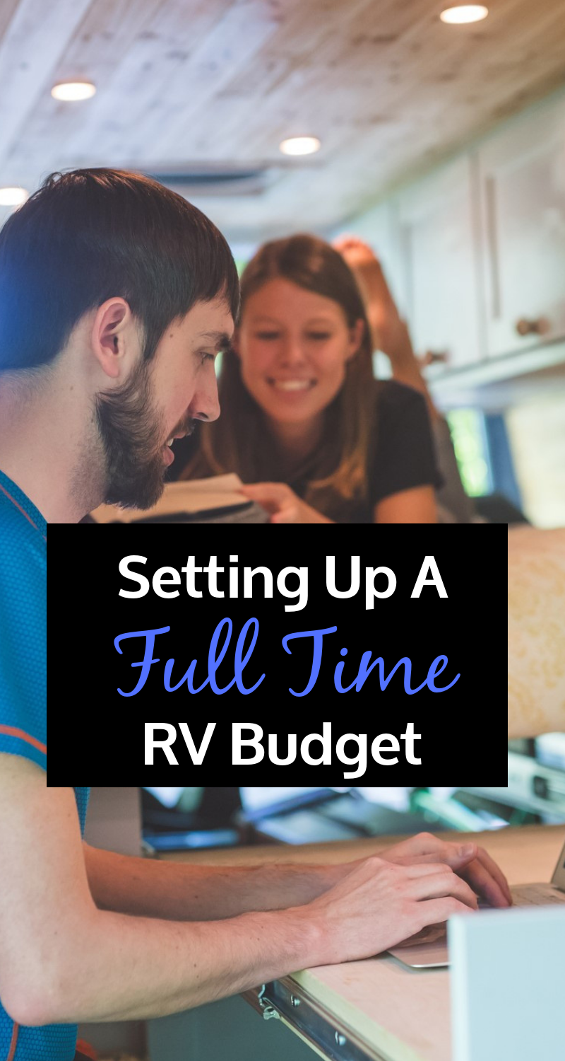 Setting up a full time RV Budget