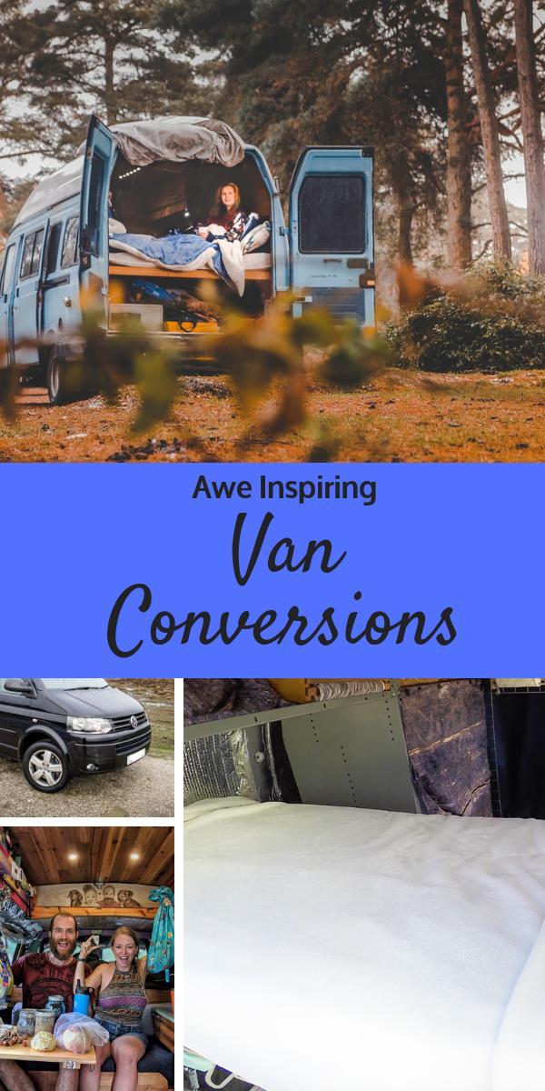 Awe Inspiring Van Conversions. #Vanlife #ProjectVanLife
