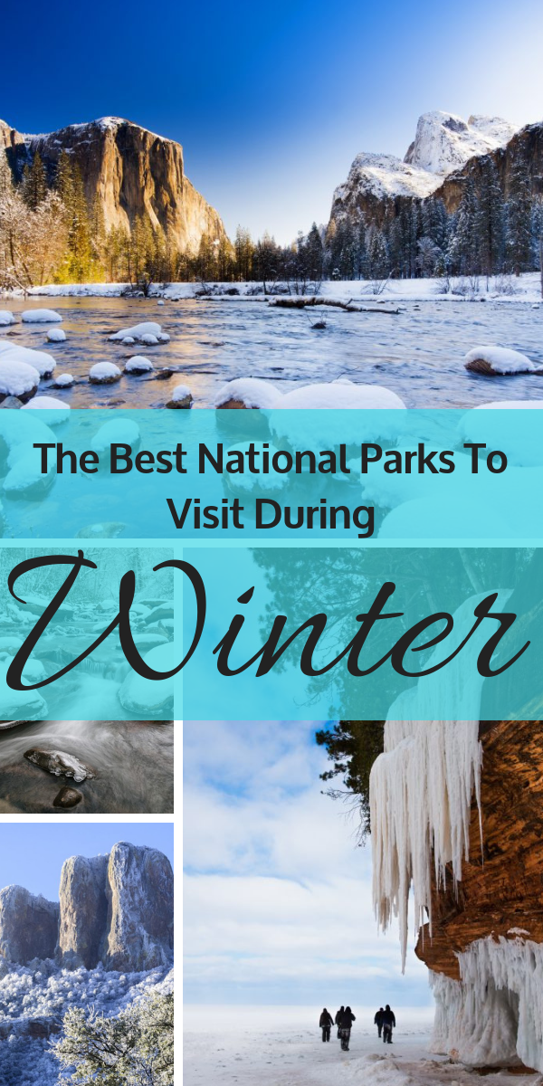 Whether you are planning a trip to see the snow or explore your very own winter wonderland, these national parks will not disappoint! Check out our list of the best parks to visit during this season and what you can do at each destination!