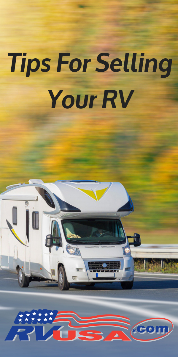 Make selling your RV easy with these helpful tips from RVUSA