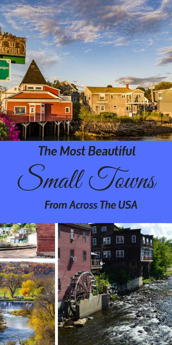Today we are taking you back to the most beautiful small towns for part two of our list! Here are all of our favorite picks in each state from Kentucky to New York.