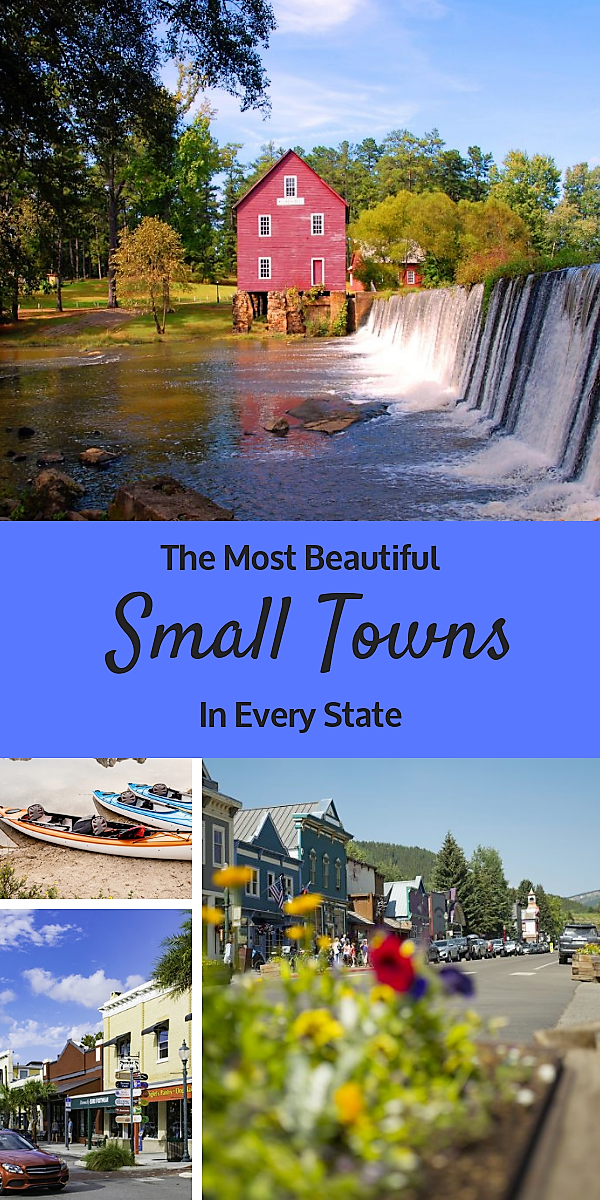 The Most Beautiful Small Towns in America by State