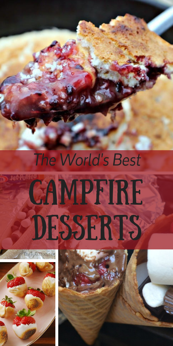 We've given you some awesome recipes for your Thanksgiving campfire feast, but let's talk about the best part of the meal: dessert. After a long day, or even after a lazy day, sometimes putting a meal together is just not at the top of your to-do list. So, we've put together a list of simple campfire desserts that will have you going back for seconds!