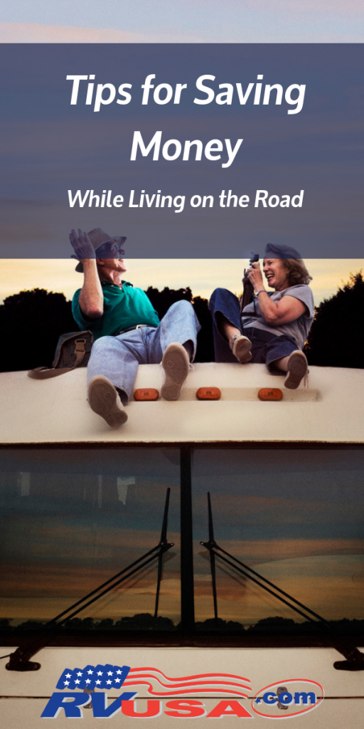 Tips for Saving Money While Living Full-Time in an RV