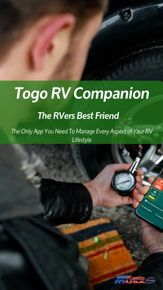 Togo RV Companion, the RVers best friend and the only RV App you will ever need to manage your RV lifestyle #Togo #rundwithtogo #ad #RVlife #RVTravel