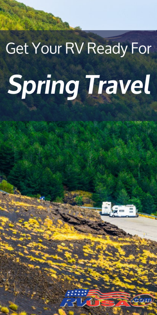 Get Your RV Ready for Spring Travel