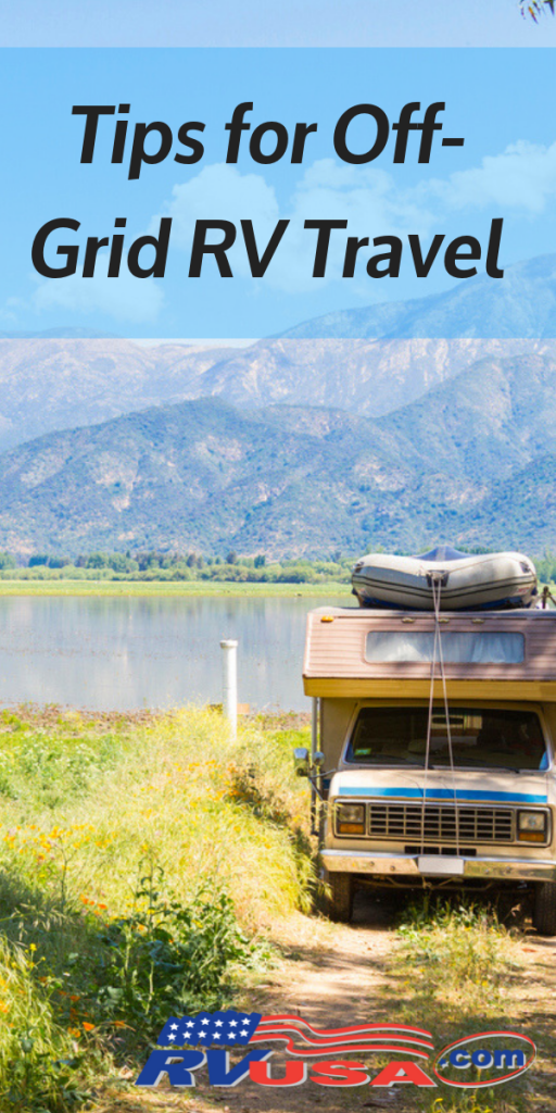 Tips for Off-Grid RV Travel