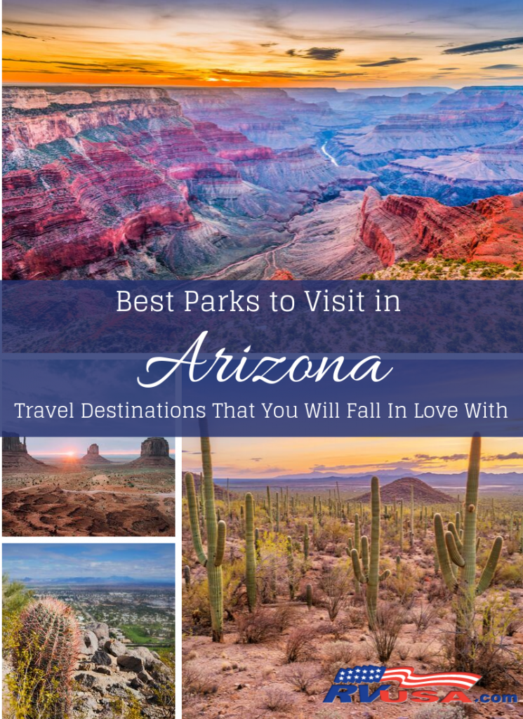 Narrowing down the best parks in Arizona to a succinct list is nearly an impossible task. The Grand Canyon State is home to what's possibly the best-known park in the United States, but that's a far cry from being all the state has to offer in scenic views. There are actually 3 national parks in the state, along with countless more state parks, mountain preserves and national monuments. Essentially, you could close your eyes and point to a spot on the map in Arizona and you'd likely land on a park with scenic views. From canyons to cactus and everything in between, here's our best attempt at selecting a list of the best parks to visit in Arizona.