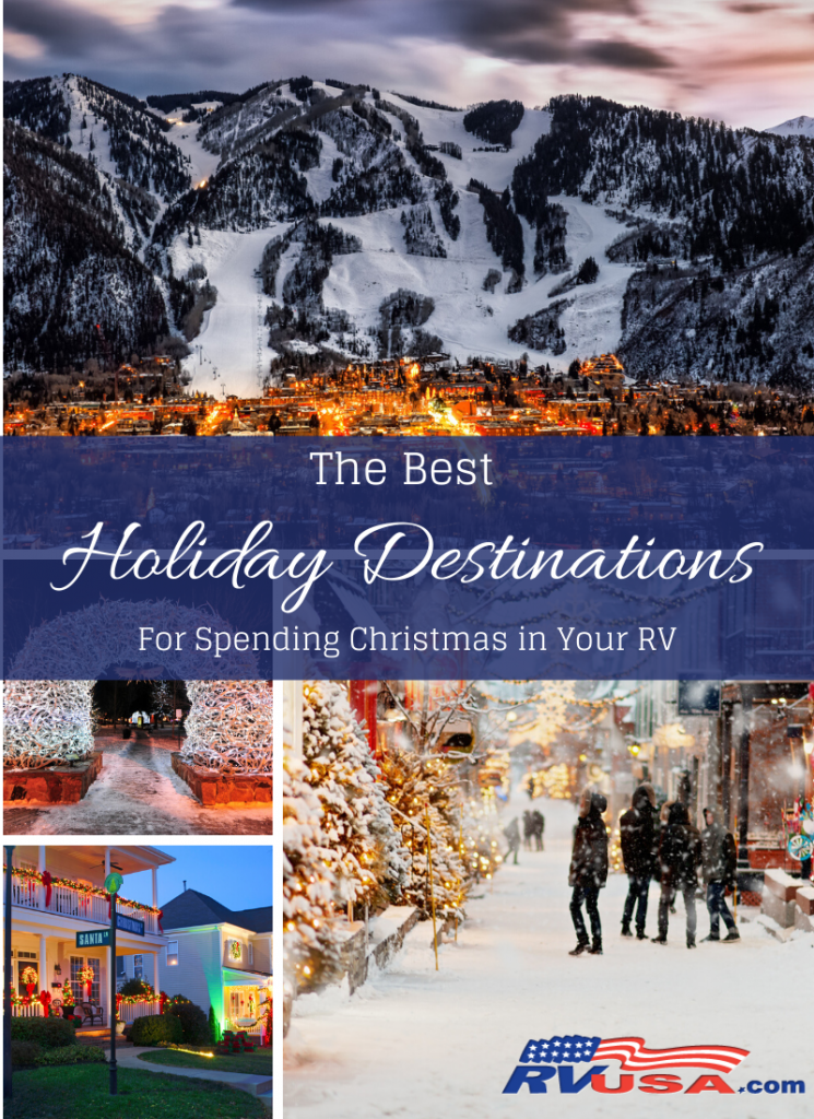 Best RV Destinations for the Holidays