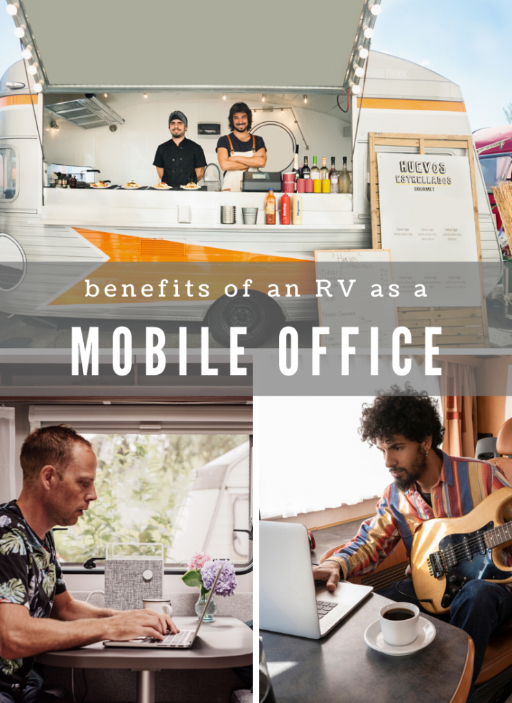 To sum it up, turning your RV into a mobile office gives you freedom. Freedom to travel when and where you want, freedom to have healthy boundaries with your work, and freedom to run your business in a way that works best for you. If you have the flexibility to create a mobile office, you will reap those benefits!