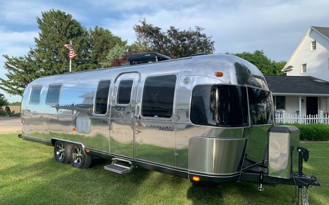Beautiful Custom Airstream Renovation Project