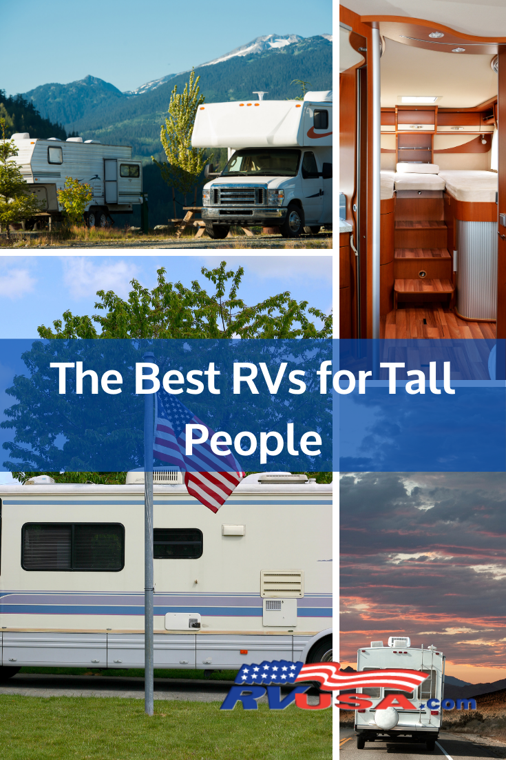 "Of course, the same can be said for campers and RVs — commonly referred to as ""small spaces."" These space-saving designs have a tendency to leave little room for our tall friends, but that's not always the case. Let's take a look at some of the leading RV brands and models that go to great lengths to accommodate the tall people in our lives."